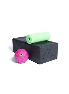Blackroll BLACKROLL® BLOCK SET Zwart, Groen, Roze