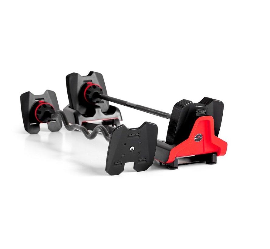 SelectTech 2080 Barbell en Curlbar - 9 - 36 kg verstelbaar