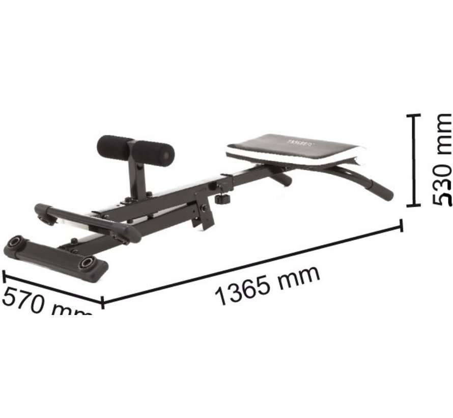 TOORX Foldable Hyperextension Bench WBX-20