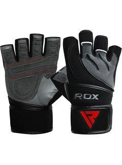 RDX Sports L4 Deepoq Leren Fitnesshandschoenen