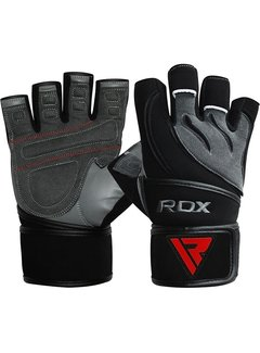 RDX Sports RDX L4 Deepoq Leren Fitnesshandschoenen