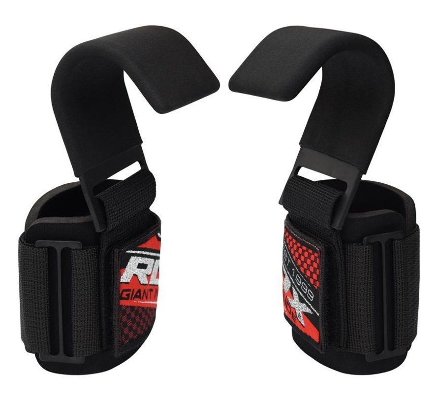 RDX W5 Weight Lifting Hook Straps