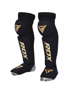 RDX Sports S3 Black Shin Guard - Scheenbeschermer - met Knee pads