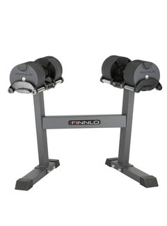 Finnlo by Hammer SMARTLOCK 2 x 32 kg set incl. rack