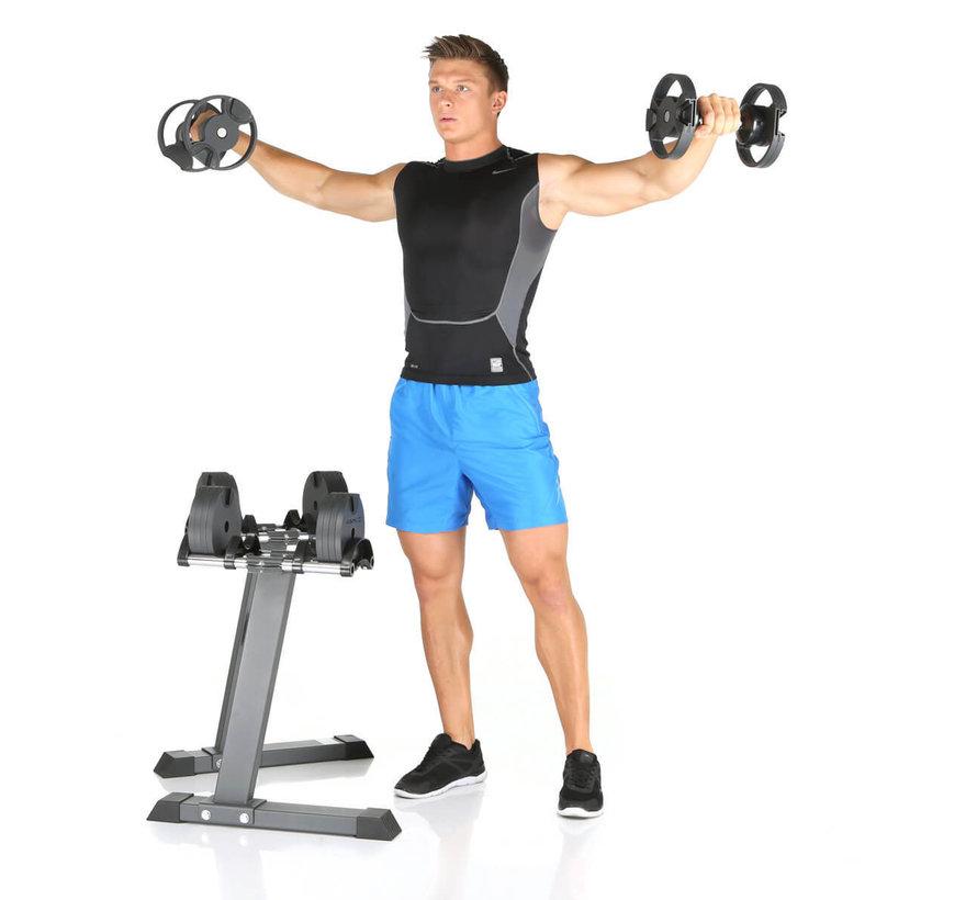 SMARTLOCK 2 x 32 kg set incl. rack