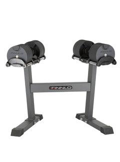 Finnlo by Hammer SMARTLOCK 2 x 20 kg set incl. rack