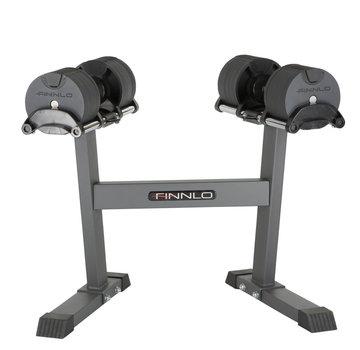 Finnlo by Hammer Finnlo SMARTLOCK 2 x 20 kg set incl. rack