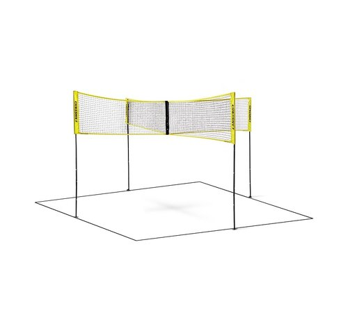 Hammer Fitness Hammer Crossnet Volleybal Net Four Square