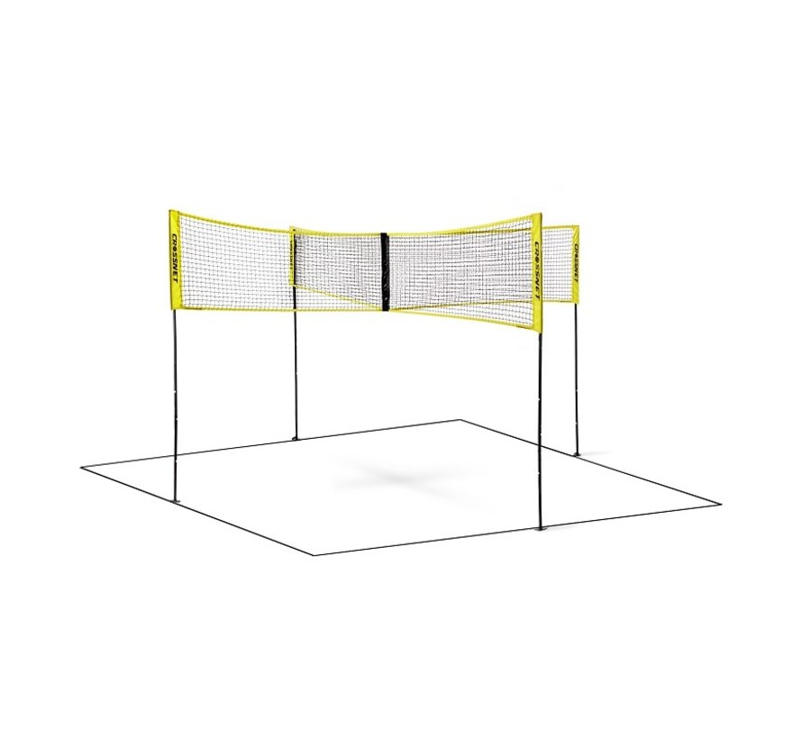 Crossnet Volleybal Net Four Square