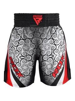 RDX Sports BSS Boxing Training Shorts Satin R1 - Rood