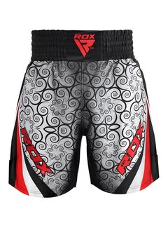 RDX Sports RDX BSS Boxing Training Shorts Satin R1 - Rood