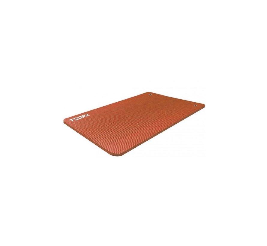Toorx Fitness Yogamat 100 x 61 x 1.5 cm - met ophangogen