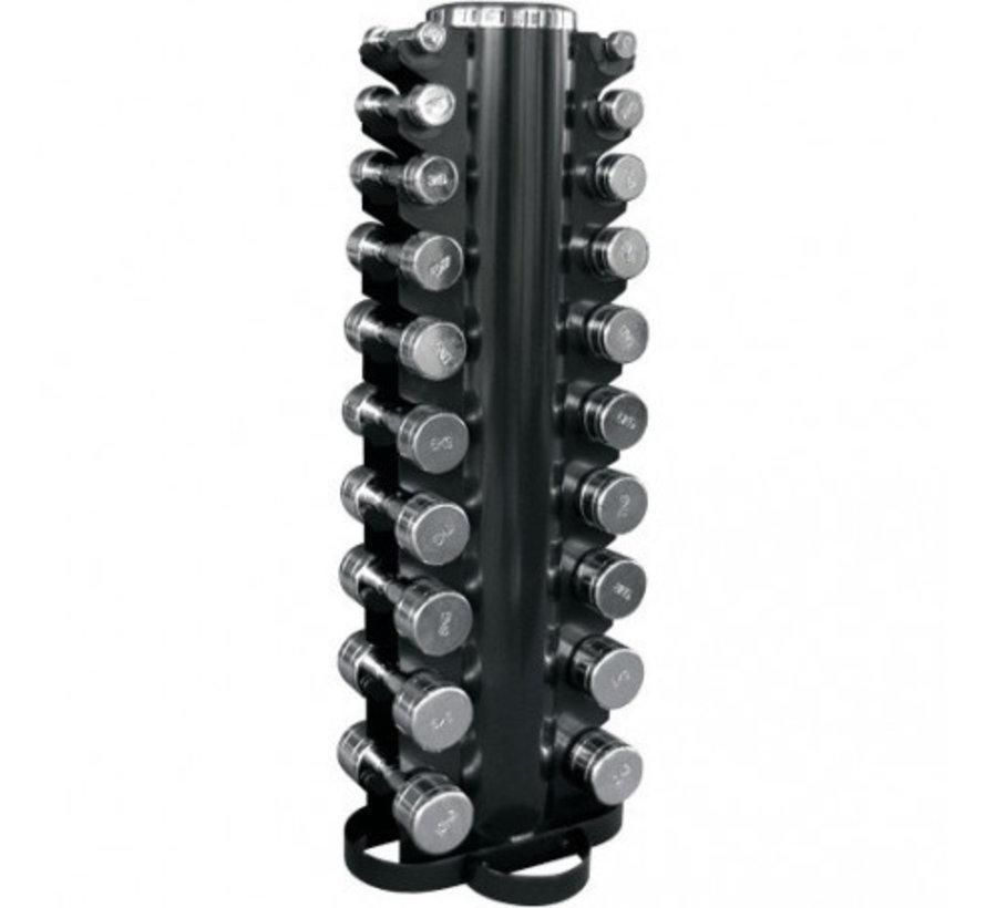 Body-Solid Verticaal Dumbbellrek DUMRACK voor 20 dumbbells