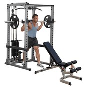 Body-Solid Body-Solid GPR378FB Power Rack Full option met trainingsbank