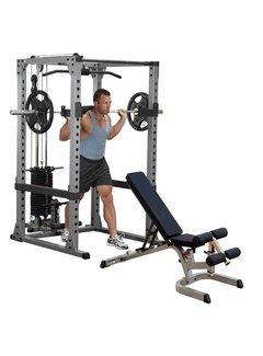 Body-Solid Body-Solid GPR378FB Power Rack Full option met trainingsbank