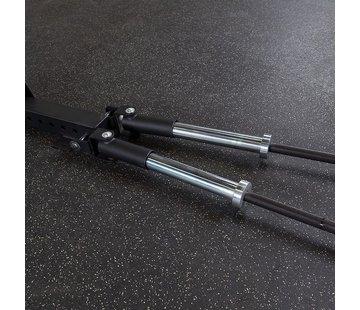 Body-Solid Dual T-Bar Row Platform voor SPR500 en SPR1000