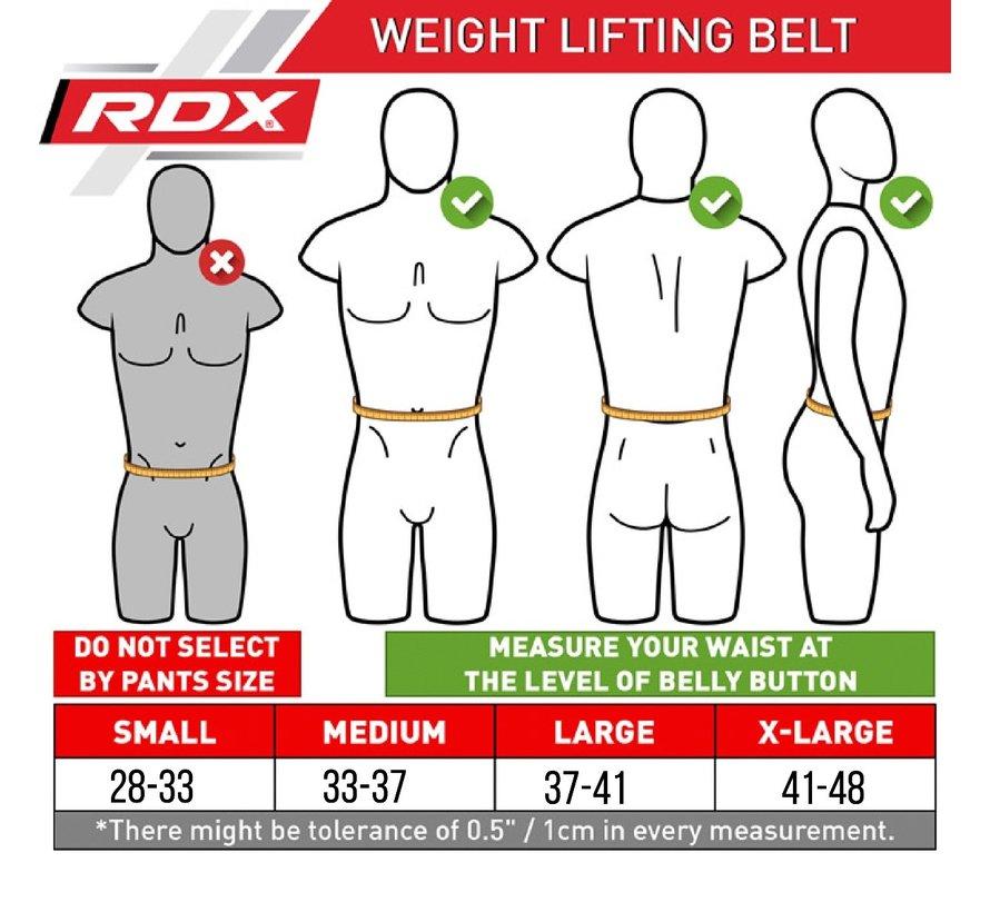 RDX X3 Gewichtsriem - Neopreen  - Rood