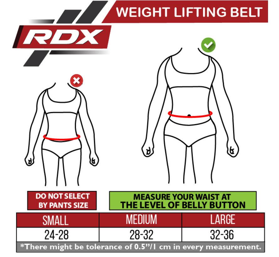 RDX X3 Gewichtsriem - Neopreen  - Roze