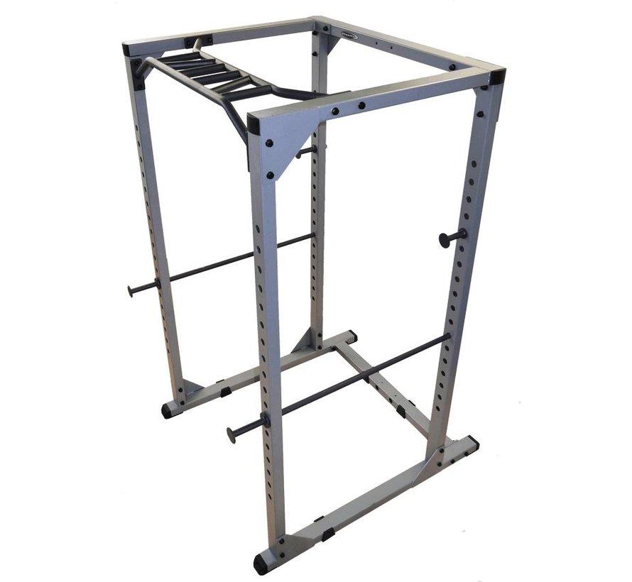 Steelflex GPR380 Power Rack met Monkey Bar