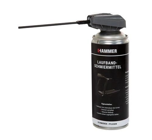 Hammer Fitness Hammer Siliconenspray - Smeermiddel - Loopbandenspray - 500 ml - met spuitsysteem