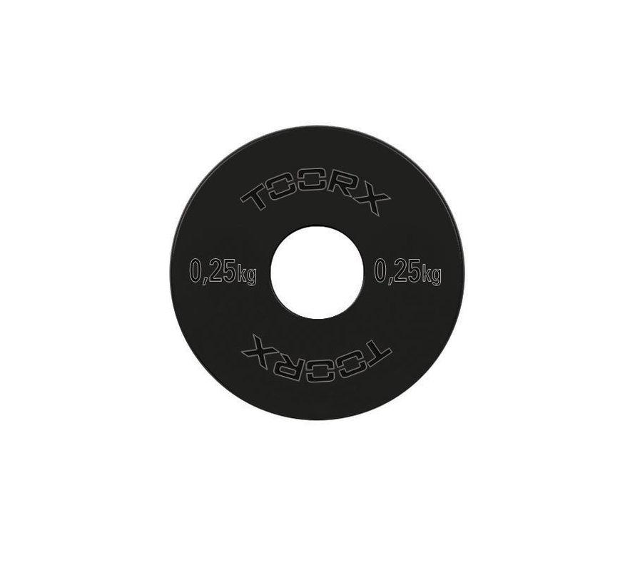 Toorx Olympische Micro Halterschijven - Staal - per paar