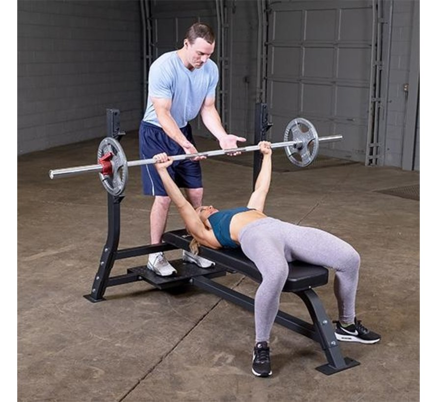 Pro Clubline Flat Olympic Bench SOFB250