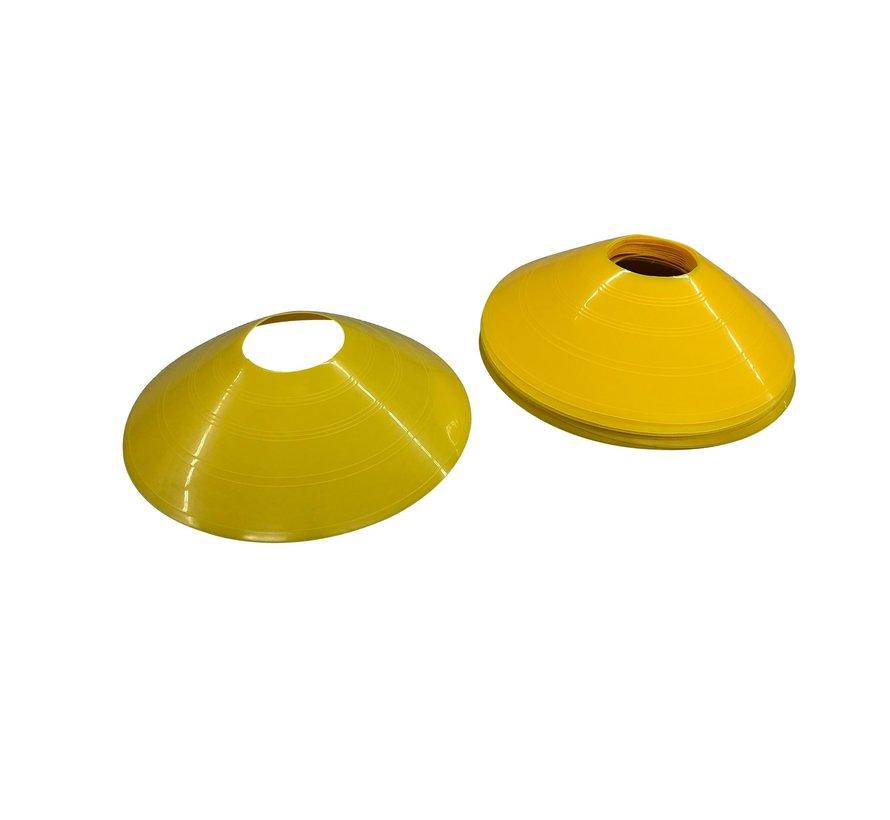 Torque Agility Cones - 12 stuks - Geel