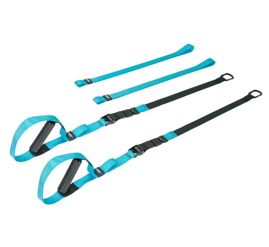 Torque USA Pro Suspension Straps - Blauw