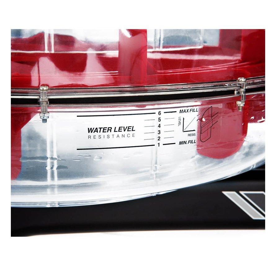 Water Stream Roeitrainer - Water Roeier - met Kinomap - tablethouder en 21 programma's