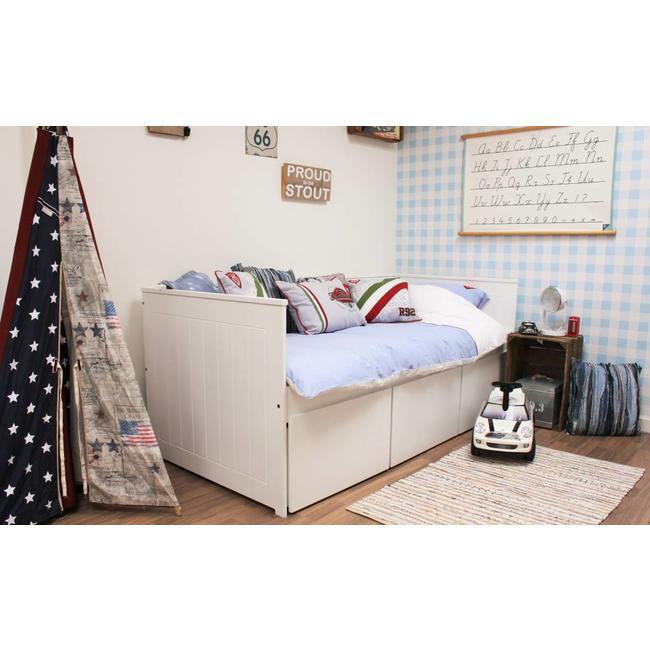 Lilli Furniture Bedbank Nanne met 3  grote lades