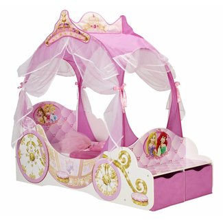 WORLDS APART Disney Princess hemelbed