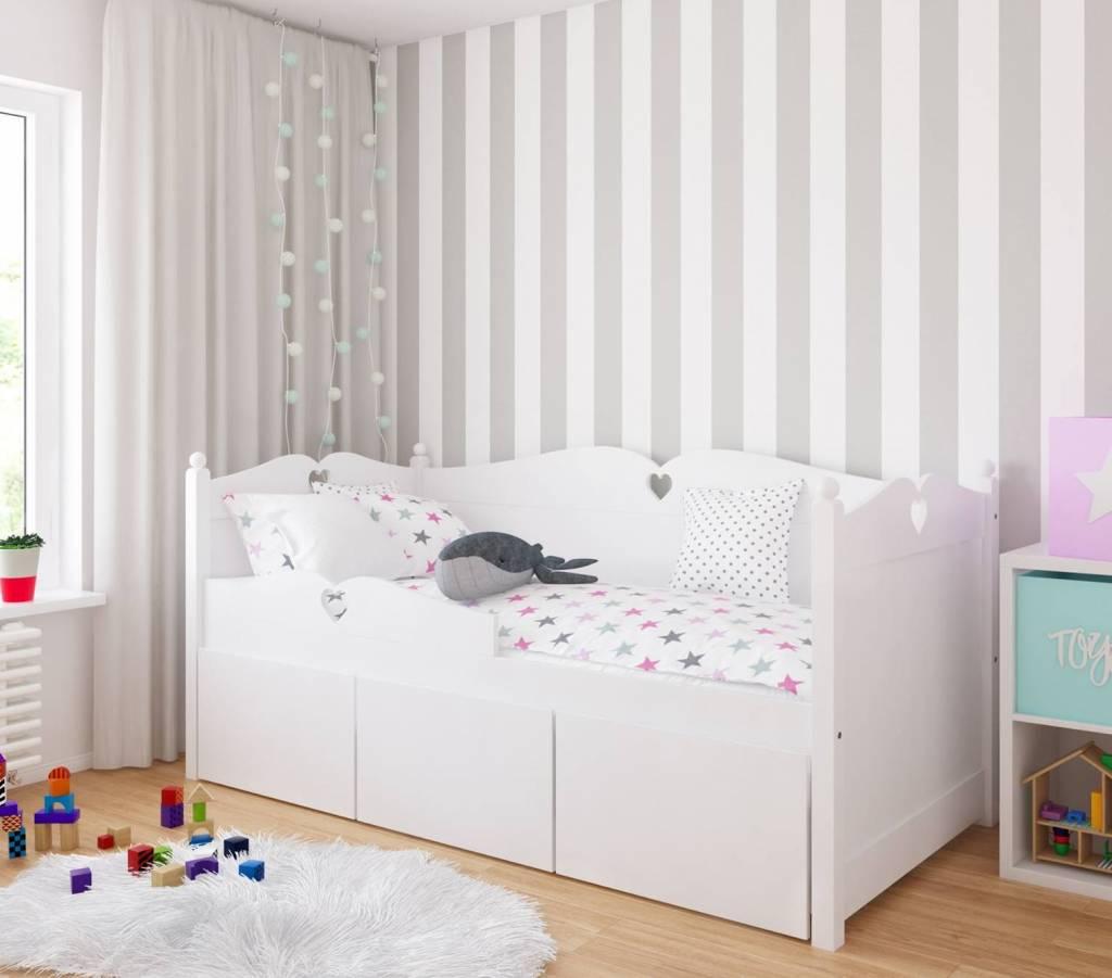 Beter Bed Bedbank.Bedbank Emma Met 3 Mega Grote Lades 90x200 Van Lilli Furniture
