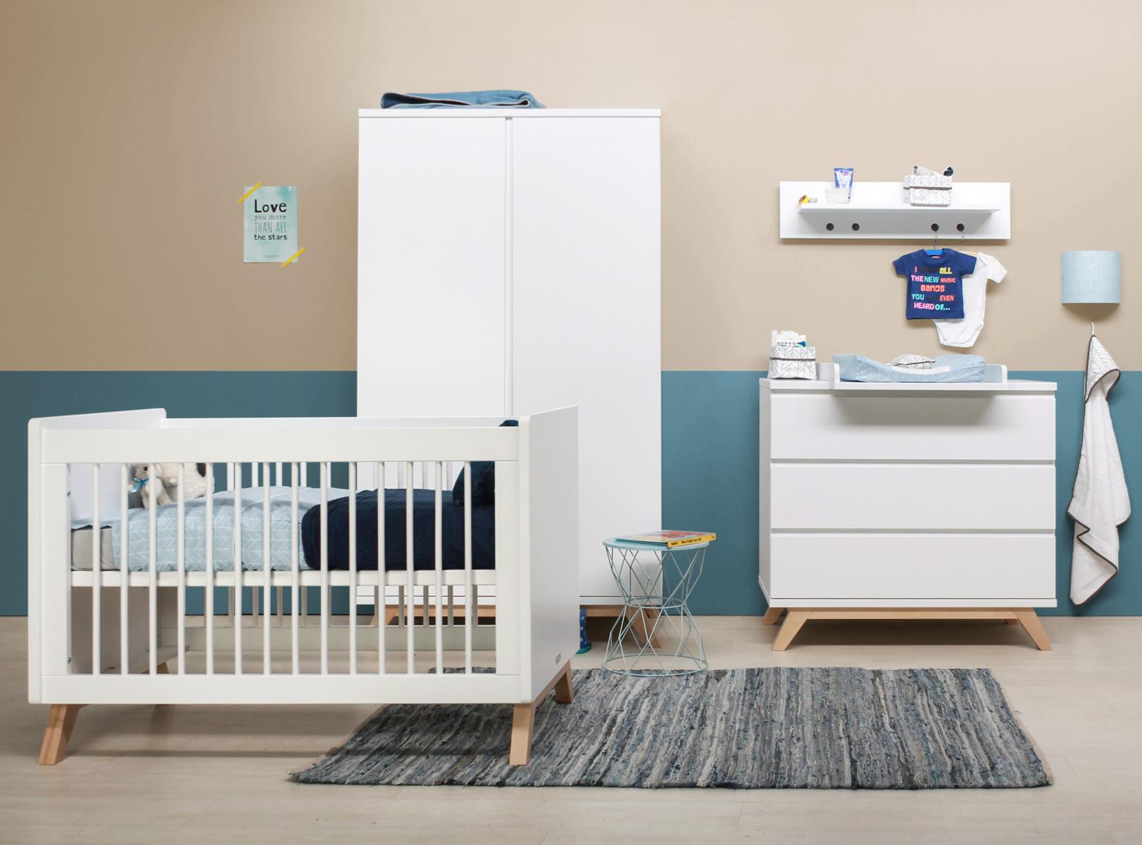 Babykamer Compleet 3 Delig.Babykamer Lynn Greeploos 3 Delig Laagste Prijsgarantie