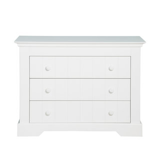 Bopita Commode Narbonne - 3 lades - Wit