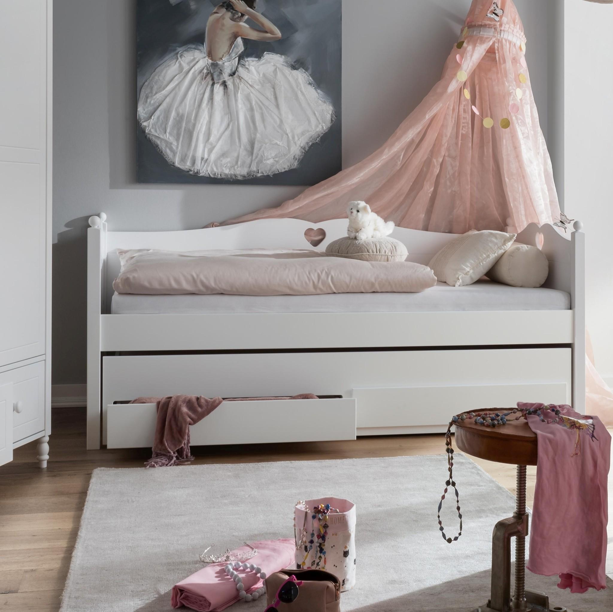 Bedbank Beter Bed.Bedbank Emma Met Slaap En Opberglades 90x200