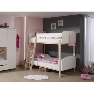 Vipack Stapelbed Kiddy - Wit