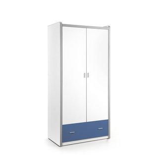 Vipack 2-deurs kledingkast Bonny Blauw