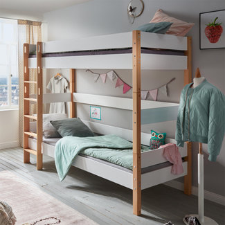 Infanskids Stapelbed Color - Wit