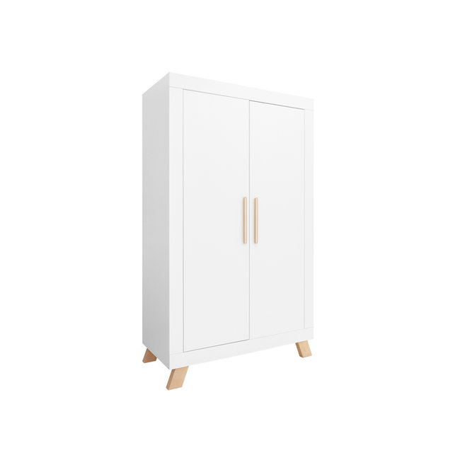 Bopita 2-deurs kledingkast Lisa