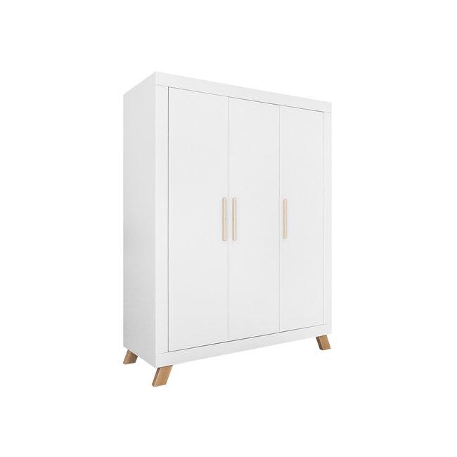 Bopita 3-deurs kledingkast Lisa