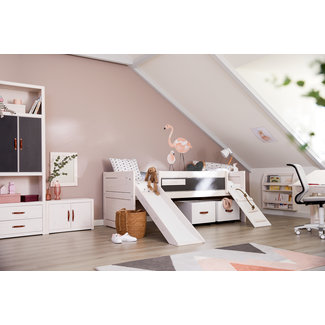 LIFETIME kidsrooms Cabin Bed Climb and Slide