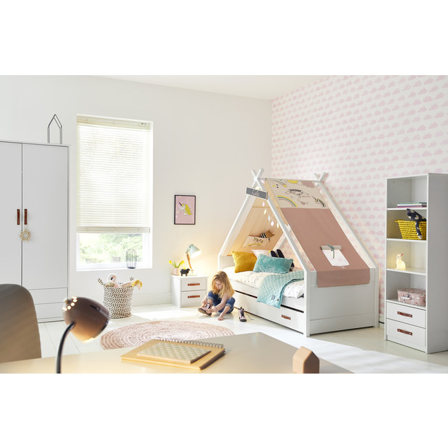 LIFETIME kidsrooms Cool kids Tipi bed - Unicorn
