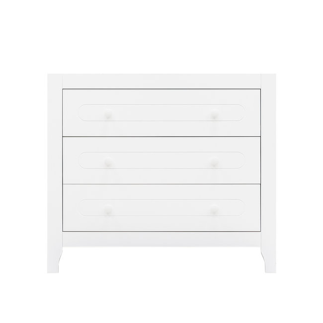 Bopita Commode Evi Wit met 3 lades