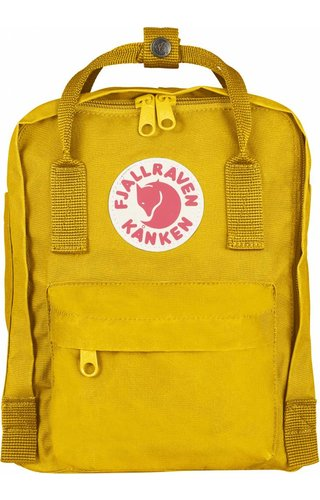 Fjäll Räven Kånken Mini Warm Yellow