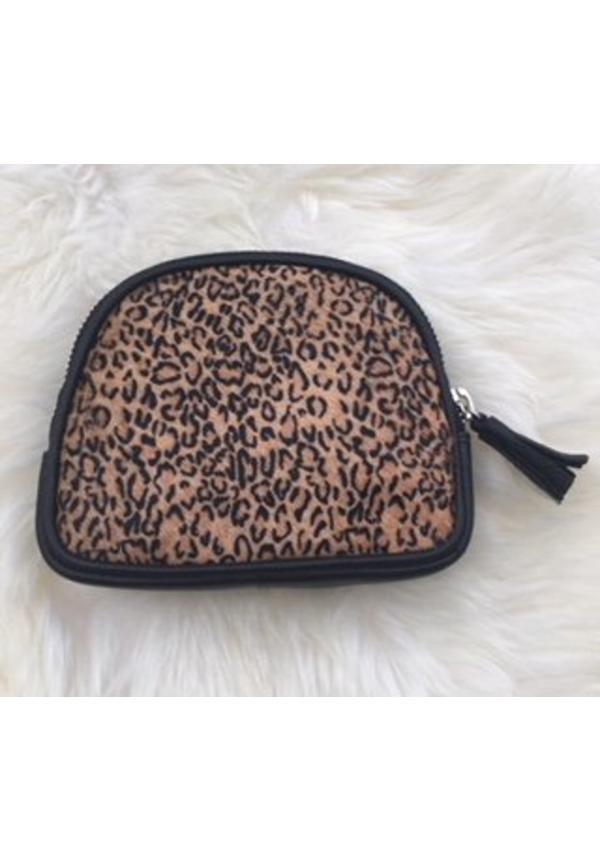 Furry pouch Leopard