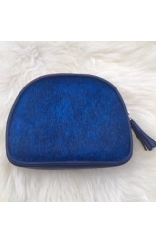 Burkely Furry pouch blue