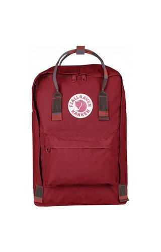 "Fjäll Räven Kånken 15"" Deep Red- Random Blocked"