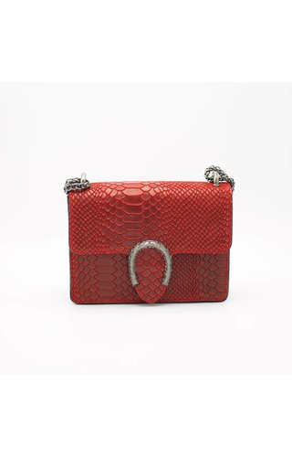 IT BAGS Little inspired bag croco rood