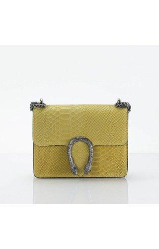 IT BAGS Little inspired bag croco geel