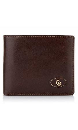 Castelijn & Beerens Gaucho Billfold 8 creditcards Mocca
